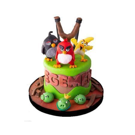 Angry Birds Doğum Günü Pastası
