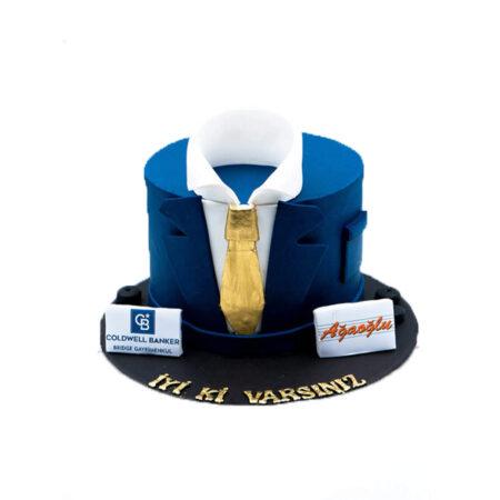 İş Adamı Doğum Günü Pastası