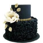 Söz Nişan Pastası Önerileri (Siyah Nişan Pastası)