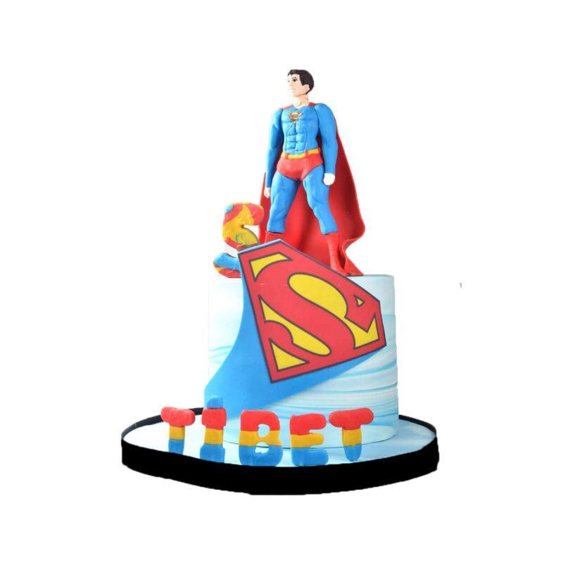 Superman Doğum Günü Pastası