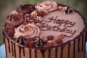 Doğum Günü Partilerinin Vazgeçilmez Yiyecekleri (Doğum Günü Pastası)