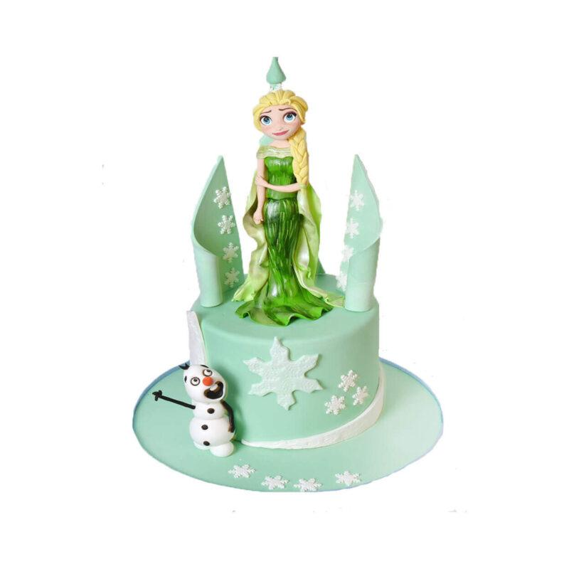 Elsa Doğum Günü Pastası