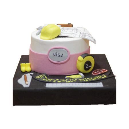 Mimar Doğum Günü Pastası
